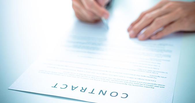 Sözleşmenin İmzalanması